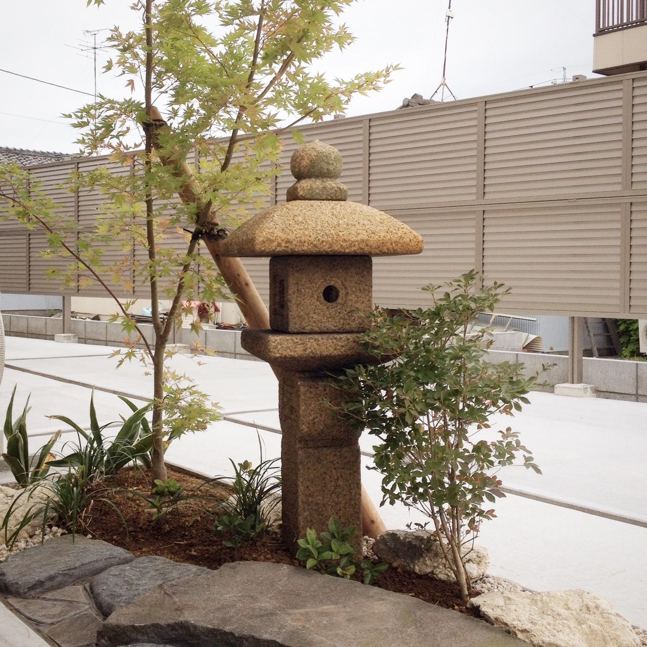 藤枝 焼津 外構 お庭